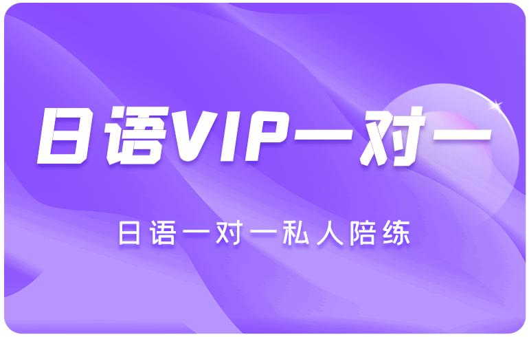 日语VIP一对一学习卡